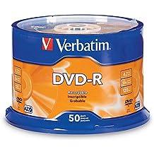 Verbatim DVD-R 4.7GB 16x AZO Recordable Media Disc - 50 Disc Spindle