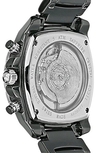 Versace-Mens-11CC9D009-SC09-DV-One-Chrono-Analog-Display-Automatic-Self-Wind-Black-Watch