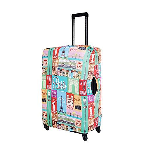 ba796e9cae19 kilofly Travel Suitcase Trolley Case Cover Protector 18 - 30 Inch + ...