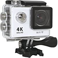 MARSHAL High Resolution [3840x2160] Action Camera 25 Flame 2.0inch WIFI 12MP 1080P FHD Waterproof Sports Action Camera with FREE Accessories (Black)