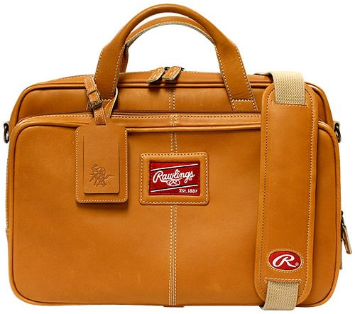Leather Baseball Briefcase (Rawlings Heart of the Hide Briefcase (Tan))