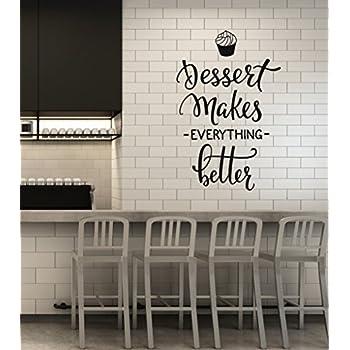 Amazon.com: Dulces de panadería y repostería – Vinilo de ...