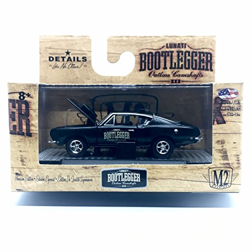 M2 Machines 1968 Plymouth Barracuda HEMI Super Stock Bootlegger Series Release BL02 - Castline 2016 Special Edition 1:64 Scale Die-Cast Vehicle (BL02 16-28) -