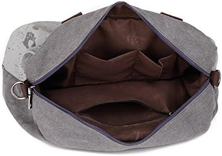 WRI.UY Canvas Letter Printing Handbags Tote Shoulder Bags Women Outdoor Sports Gym Fitness Bag Travel Duffel Bolsa