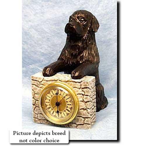 Michael Park BLACK Newfoundland Mantle (Dog Mantle Clock)