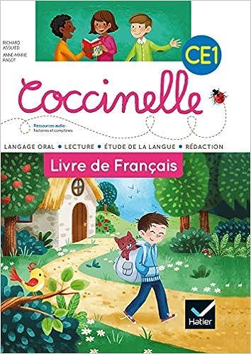 Livre De Francais Ce1 Coccinelle Richard Assuied Anne