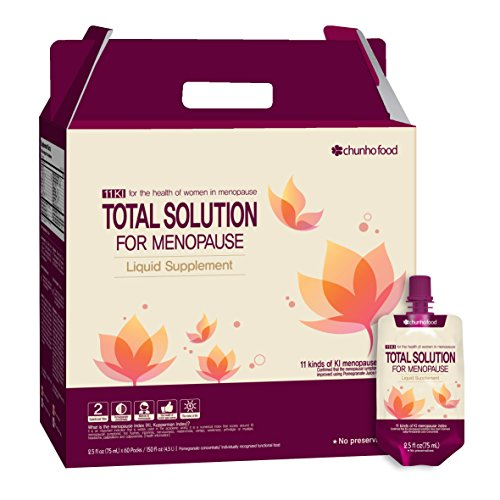 Chunho Food Total Solution for Menopause Liquid Supplement. Prepare & Maintain Healthy Lifestyle for Middle-Aged Women. No Preservatives and Artificial Additives. … by Chunho Food