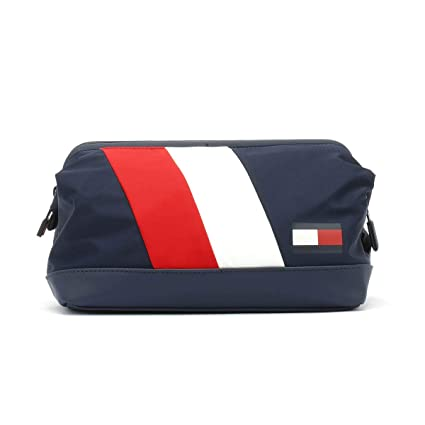 41668ee7bc Tommy Hilfiger Chevron Framed Navy Wash Bag  Amazon.co.uk  Shoes   Bags