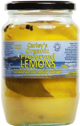 Carley's Organic Preserved Lemons 700 g