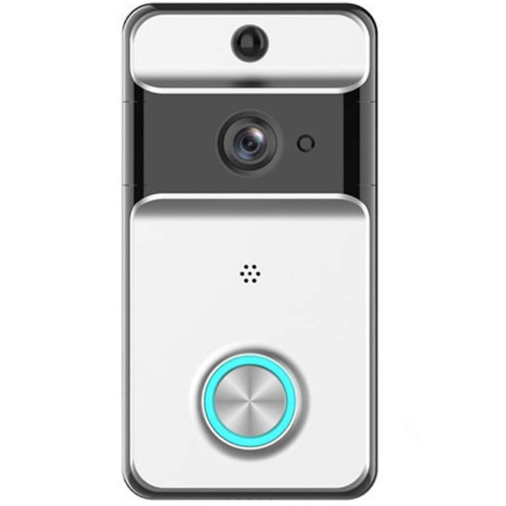 WAWRR Smart Doorhill,Intelligente WIFI campanello a vista a casa a distanza, monitorando video voce interfono sicuro casa