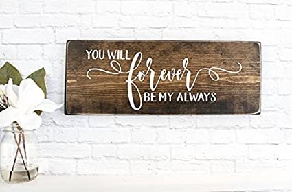 Onepicebest Rustic Wedding Wooden Signs Personalized Wood Home Decor Custom Farmhouse Sign