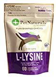 Pet Naturals Feline L-Lysine Chews Amino Acid For Cats Chicken Liver Flavor - 60 Chews