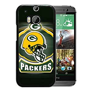 2015 Latest Green Bay Packers 09 Black Case For HTC ONE M8 Phone Case Cool Design