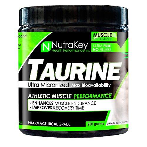 NutraKey Taurine, 250 Gram