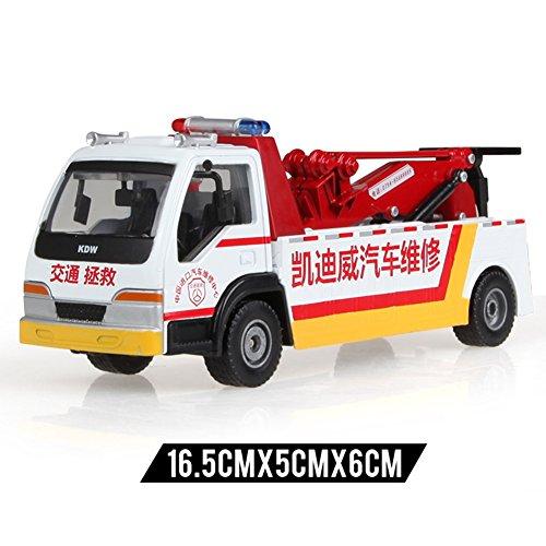 XUERUI 消防車1:50スケール水消防車トラック合金鋳造モデル合金自動車モデル子供のおもちゃの車消防車モデル車モデル (色 : 3)