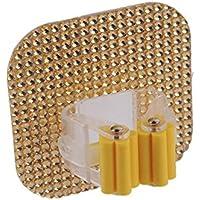 rungao cristal cuadrado con Mop soporte de pared