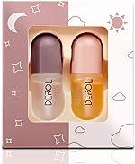 Vafee Lip Plumper Set, Natural Lip Plumper and Lip Care Serum,