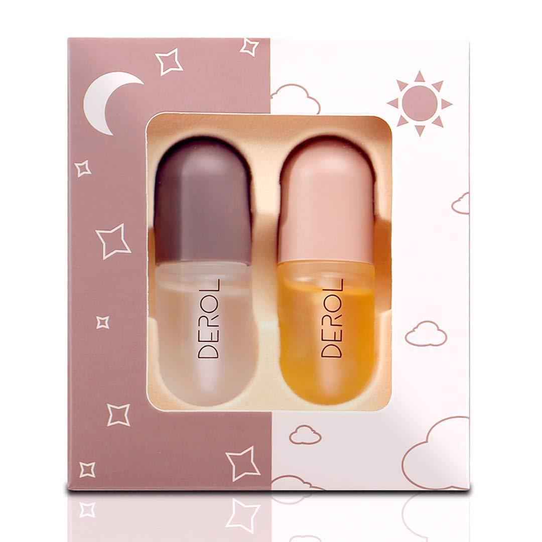 Vafee Lip Plumper Set, Natural Lip Plumper and Lip Care Serum, Lip Enhancer for Fuller, Lip Mask, Beautiful Fuller, Hydrating & Reduce Fine Lines