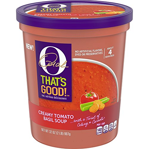 O, That's Good! Creamy Tomato Basil Soup Cup, 32 Oz by O, That's Good!