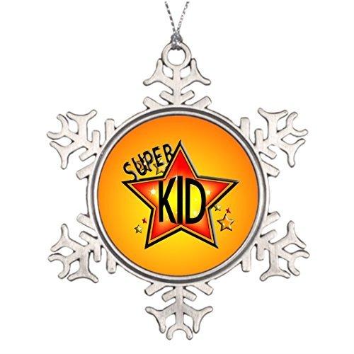 Metal Ornaments Xmas Trees Decorated Kid Best Christmas Snowflake Ornament Movie