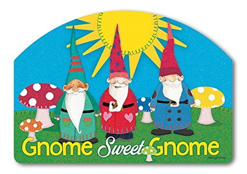 Yard DeSigns Gnome Sweet Gnome Magnetic Signs 71651 - Design Post Yard Sign