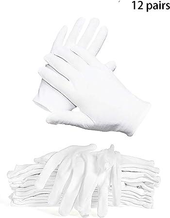 Guantes de Tela de Algodón,Guantes Hidratantes,guantes médicos,Guantes de algodón blanco,Guantes Blancos,Guantes de Algodón: Amazon.es: Bricolaje y herramientas
