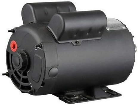 5 HP SPL  Air Compressor 60 Hz Electric Motor 208-230 Volts 3450 RPM