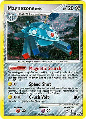 Pokemon Diamond & Pearl Stormfront Single Card Magnezone #5 Holo Rare [Toy]