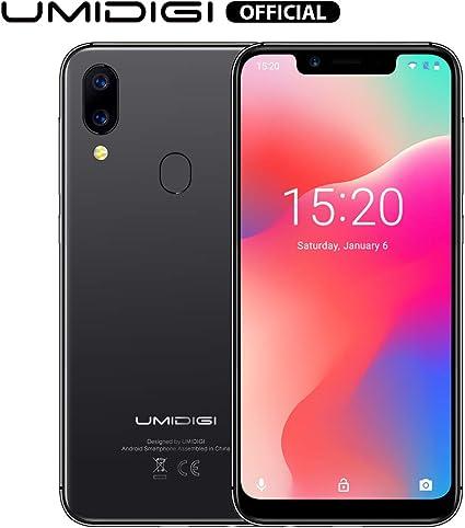 UMIDIGI A3 Pro Smartphone Libres Android 9 Pie Pantalla 18:9/5.5 ...