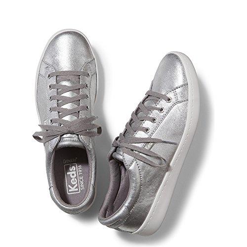 Keds Ace Metallic Suede Silver T2OgZ