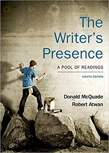 The writers presence a pool of readings donald mcquade robert the writers presence a pool of readings donald mcquade robert atwan 9781457664465 amazon books fandeluxe Images