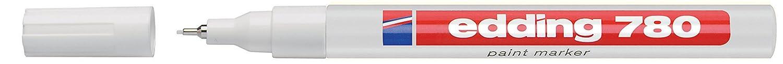 EDDING 780 PAINT MARKER PEN EXTRA FINE LOW ODOUR - WHITE 4-780049