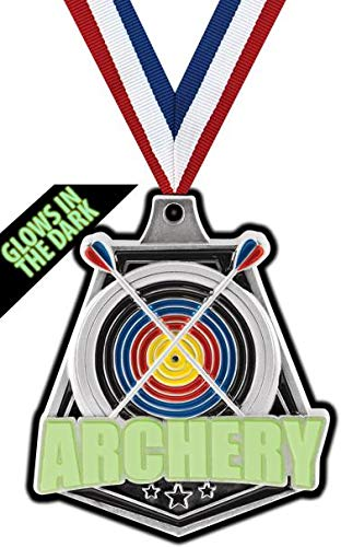 Crown Awards Silver Archery Medals - 2