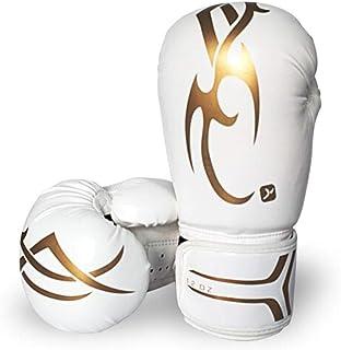 Guyuexuan Gants de Boxe, Gants de Combat Sanda Muay Thai, compétition de Combat pour Sacs de Sable pour Adultes, Gants Professionnels, Haute qualité