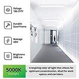 Sunco Lighting 2 Pack Wraparound LED Shop Light, 4