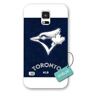 Equipo de MLB Onelee™ - Toronto arrendajos Samsung Galaxy S5 Logo de cubierta - esmerilado blanco