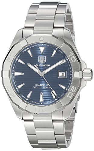 TAG Heuer Men s Aquaracer Swiss Automatic Stainless Steel Dress Watch, Color Silver-Tone Model WAY2112.BA0928