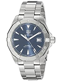 TAG Heuer Men's WAY2112.BA0928 Aquaracer Analog Display Swiss Automatic Silver Watch