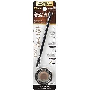 Lor Brow Plmp 285 Linr Tr Size .27z L'Oreal Brow Stylist Plumper Eyebrow Liner 385 Transparent .27 Fl Oz.
