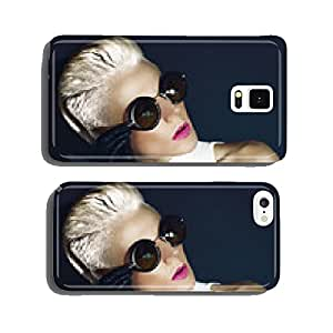 Glamorous Blonde on a Black background Autumn Fashion Style cell phone cover case iPhone6 Plus