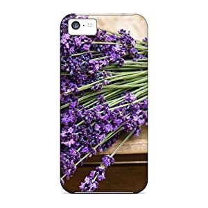 LJF phone case New Arrival UXc1617RTwj Premium iphone 6 plus 5.5 inch Case(lavender Bouquet Nature)