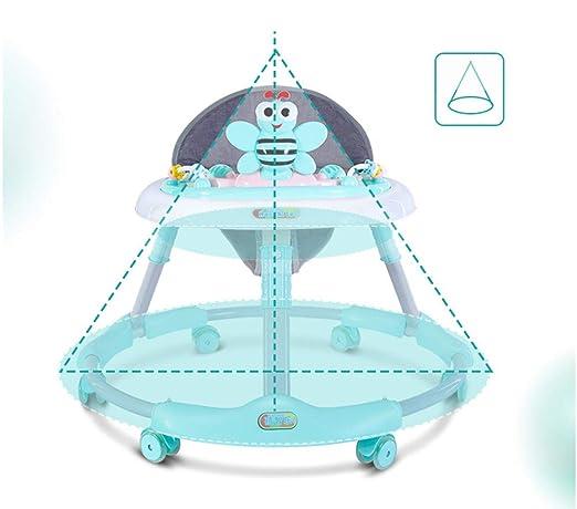 GPAN Andadera para Bebés, Plegable de un Toque, Bandeja de ...