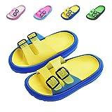 Toddler Boy Girl Sandals Little Kids Slide Non-Slip Beach Water Shoes Lightweight Shower Pool Summer Slippers