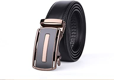 BOMEANS Mens Dress Casual Leather Belts Buckle