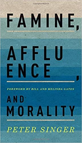 famine affluence and morality peter singer essay Famine, affluence, and morality about us editorial team peter singer upload a copy of this paper check publisher's policy papers currently archived.