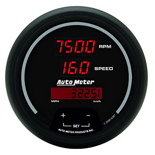 Auto Meter 6387 Sport Comp Digital 3-3/8