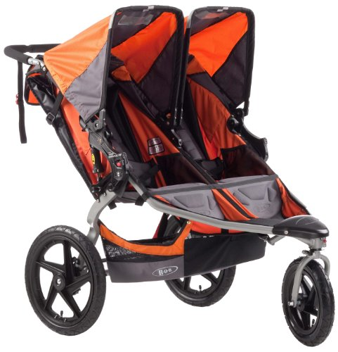Car Seat Compatible Double Jogging Stroller - 6