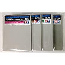 TAMIYA Sanding Sponge Sheet 4-type(#400,#600,#1000,#1500) Set