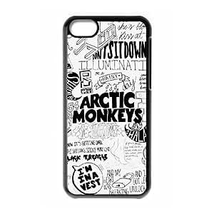 Arctic Monkeys iPhone 5c Cell Phone Case Black SUJ8518430