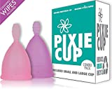 Ranked 1 for Most Comfortable Menstrual Cups and Better Removal Stem Than All Other Brands - Every Menstrual Cup Purchased One is Given to a Woman in Need!